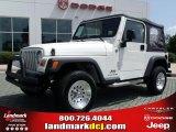 2006 Stone White Jeep Wrangler SE 4x4 #33081200