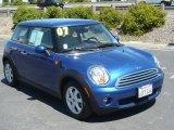 2007 Lightning Blue Metallic Mini Cooper Hardtop #33080965