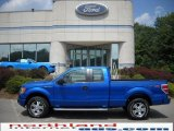 2010 Blue Flame Metallic Ford F150 STX SuperCab 4x4 #33080972