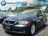 2007 Deep Green Metallic BMW 3 Series 328xi Sedan #33081012