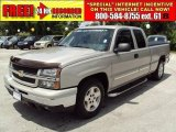 2006 Silver Birch Metallic Chevrolet Silverado 1500 LS Extended Cab #33081845