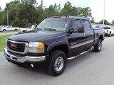 2006 Onyx Black GMC Sierra 2500HD SLT Crew Cab 4x4 #33081847