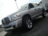 2008 Bright Silver Metallic Dodge Ram 1500 Big Horn Edition Quad Cab 4x4 #33081933