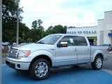 2010 Ingot Silver Metallic Ford F150 Platinum SuperCrew #33081106