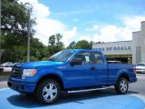 2010 Blue Flame Metallic Ford F150 STX SuperCab #33081110