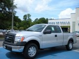 2010 Ingot Silver Metallic Ford F150 XL SuperCab #33081113