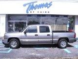 2007 Graystone Metallic Chevrolet Silverado 1500 Classic LS Crew Cab #33146591