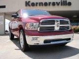 2010 Inferno Red Crystal Pearl Dodge Ram 1500 Big Horn Quad Cab #33146610