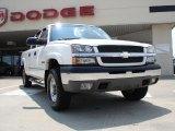 2003 Summit White Chevrolet Silverado 1500 LS Crew Cab 4x4 #33146616