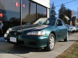 2002 Noble Green Pearl Honda Accord EX V6 Coupe #3311987