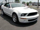 2007 Performance White Ford Mustang Shelby GT500 Convertible #33146621