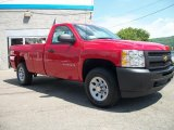 2010 Victory Red Chevrolet Silverado 1500 Regular Cab 4x4 #33146284