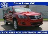2011 Wild Cherry Metallic Volkswagen Tiguan SEL #33146878