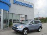 2008 Glacier Blue Metallic Honda CR-V EX-L 4WD #33182148