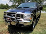 2004 True Blue Metallic Ford F250 Super Duty Lariat SuperCab 4x4 #33182218