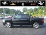 2009 Black Chevrolet Silverado 1500 LTZ Crew Cab 4x4 #33189422