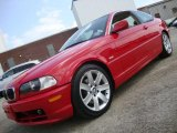 2003 Electric Red BMW 3 Series 325i Coupe #33188870