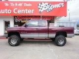 2000 Dodge Ram 1500 Dark Garnet Red Pearlcoat