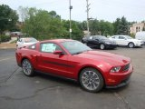 2011 Red Candy Metallic Ford Mustang GT/CS California Special Coupe #33189063