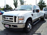 2010 Oxford White Ford F350 Super Duty King Ranch Crew Cab 4x4 Dually #33188898