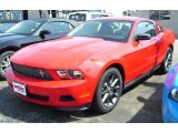 2011 Race Red Ford Mustang V6 Premium Coupe #33188899