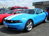 2011 Grabber Blue Ford Mustang GT Premium Coupe #33188900