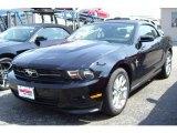 2011 Ebony Black Ford Mustang V6 Premium Convertible #33188903