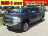 2007 Blue Granite Metallic Chevrolet Silverado 1500 LT Crew Cab #33189612