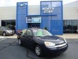 2005 Dark Blue Metallic Chevrolet Malibu Sedan #33189165