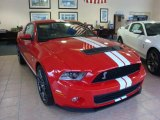 2011 Race Red Ford Mustang Shelby GT500 SVT Performance Package Coupe #33189176