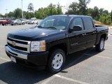 2010 Black Chevrolet Silverado 1500 LT Crew Cab #33236949