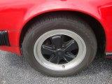 Porsche 911 1981 Wheels and Tires
