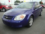 2007 Laser Blue Metallic Chevrolet Cobalt LS Sedan #33236381