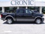 2010 Brilliant Black Crystal Pearl Dodge Ram 1500 TRX Crew Cab #33236412