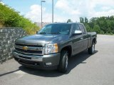 2011 Taupe Gray Metallic Chevrolet Silverado 1500 LT Extended Cab 4x4 #33236970