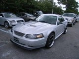 2002 Satin Silver Metallic Ford Mustang GT Coupe #33236740