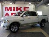 2010 Stone White Dodge Ram 1500 Laramie Crew Cab #33236441