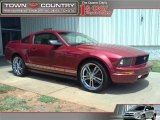 2005 Redfire Metallic Ford Mustang V6 Premium Coupe #33236759