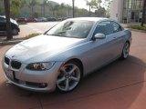 2008 Titanium Silver Metallic BMW 3 Series 335i Convertible #33236244