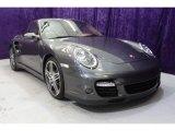 2007 Slate Grey Metallic Porsche 911 Turbo Coupe #33236478