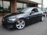 2007 Black Sapphire Metallic BMW 3 Series 335i Coupe #33236274