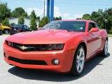 2010 Inferno Orange Metallic Chevrolet Camaro LT/RS Coupe #33236292