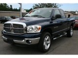 2007 Patriot Blue Pearl Dodge Ram 1500 ST Quad Cab 4x4 #33237146