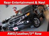 2011 Ebony Black Kia Sorento EX V6 AWD #33236311