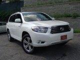 2010 Blizzard White Pearl Toyota Highlander Sport 4WD #33237161