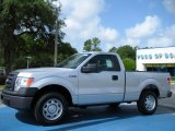 2010 Ingot Silver Metallic Ford F150 XL Regular Cab #33305511