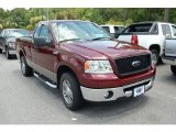 2006 Dark Toreador Red Metallic Ford F150 XL Regular Cab #33305630