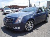 2009 Blue Diamond Tri-Coat Cadillac CTS 4 AWD Sedan #33305427
