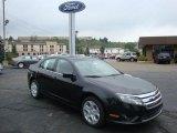 2010 Tuxedo Black Metallic Ford Fusion SE #33305537