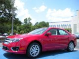 2010 Red Candy Metallic Ford Fusion SEL V6 #33305492